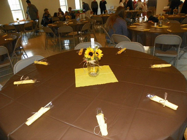 Piedmont bible church for Dining hall decoration